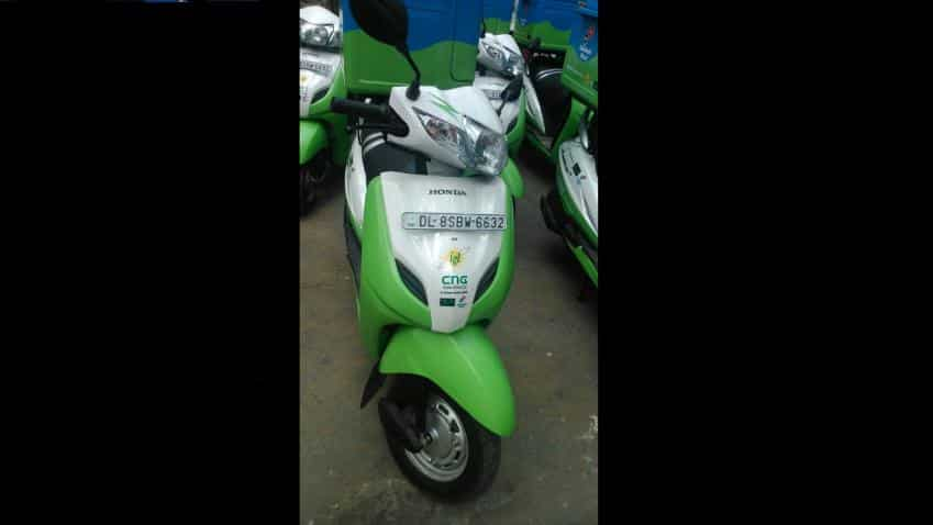 First ever CNG two wheeler in India to bring down travel cost by 40%