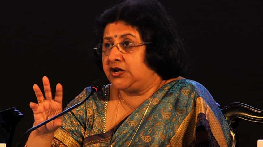 """""""Transparency and good governance"""" key in handling infra projects: Arundhati Bhattacharya"""