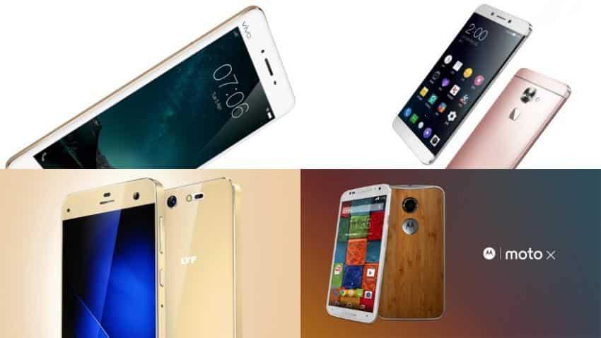 Who wins: Reliance Lyf Earth 2 versus LeEco Le Max 2, Vivo V3 Max, Moto X version 2