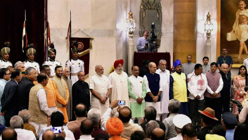 With an eye on UP elections PM Modi backtracks on 'lean govt' promise
