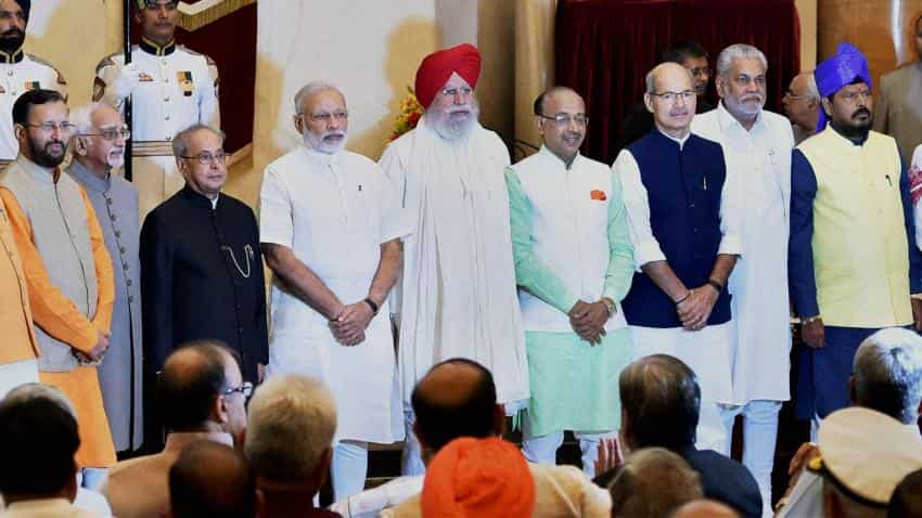Here's a full list of reshuffled ministers in the new cabinet