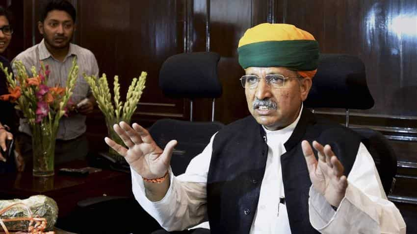 Challenge is to grow in double digits, says new MoS Finance Meghwal
