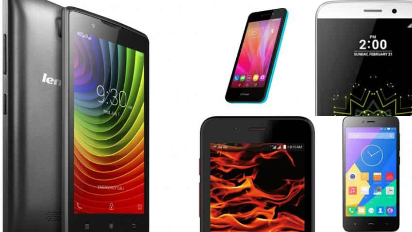 Five top 4G enabled smartphones priced under Rs 5,000
