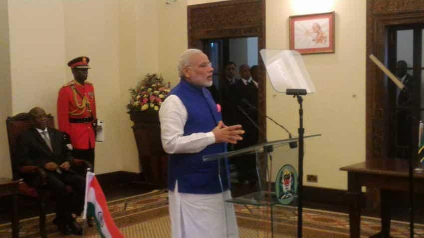 PM Modi in Africa: India to provide LOC of Rs 612 crore to Tanzania