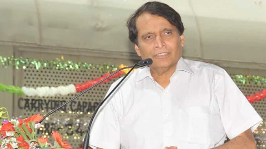 Suresh Prabhu seeks support to merge Railway budget with Union budget; writes to FM Jaitley