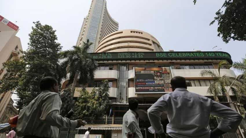 Sensex gains over 90 points on strong performance from auto, metal stocks