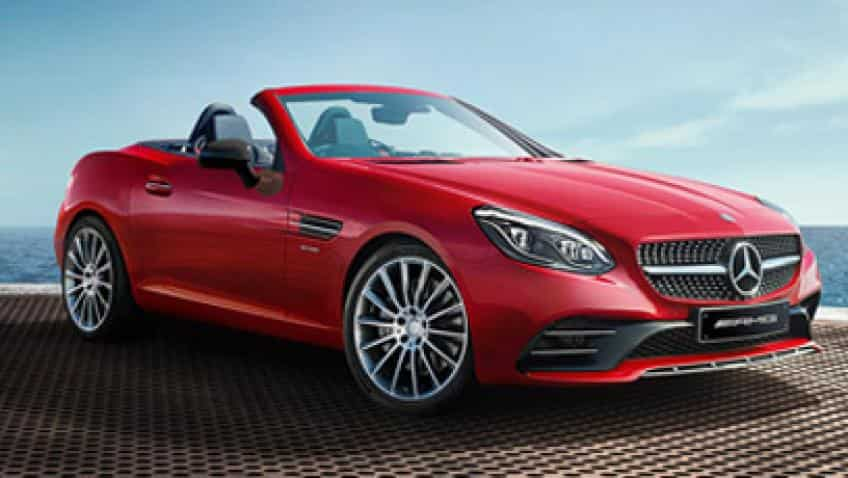 Mercedes Benz launches its roadster AMG SLC 43
