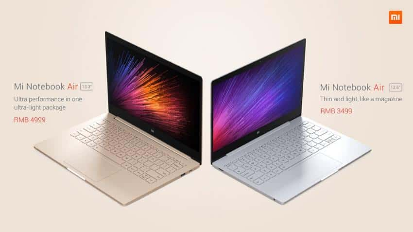Xiaomi introduces 'Mi Notebook Air' in China