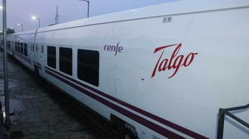 Talgo train reaches Mumbai; delayed due to heavy rains