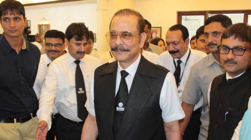 SC extends Subrata Roy's parole till September 16 after receiving Rs 300 crore deposit