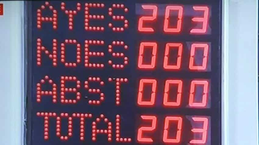 16 years in making: Rajya Sabha passes GST Bill, finally