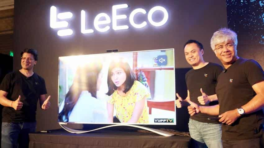 LeEco launches content integrated Super3 series of TVs in India