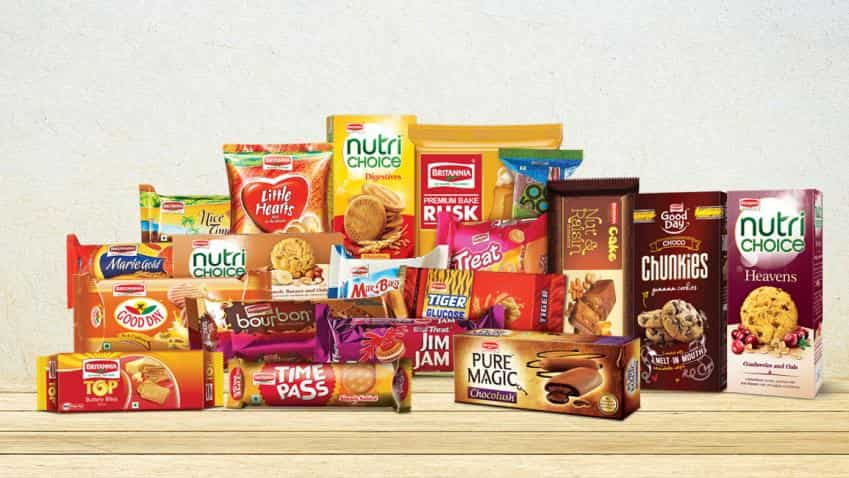 Britannia Industries' net profit rise by 13%; shares up over 5%