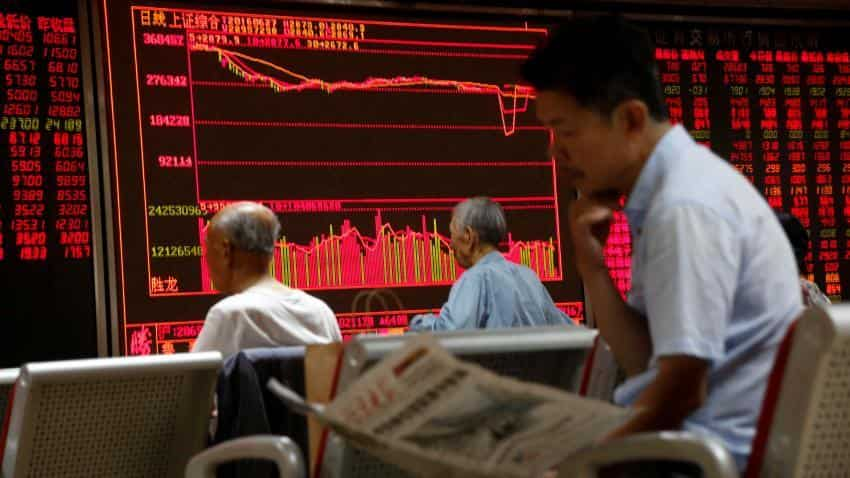 Asian shares rise after Wall Street hits record highs, China data awaited