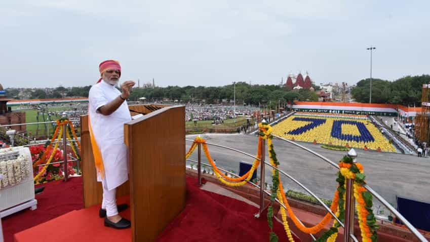 Independence Day: From GST, investment, rural roads to inflation, this is what PM Modi said