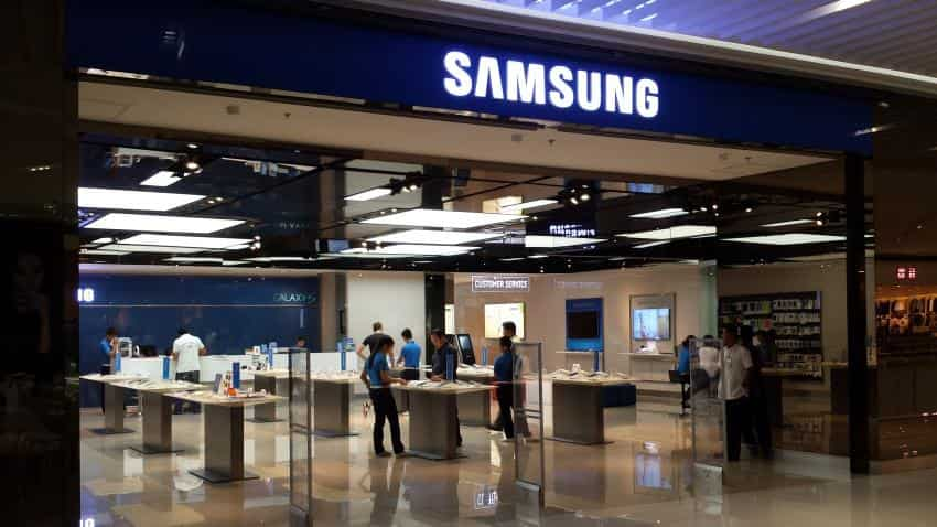 Samsung Electronics shares trade at new record