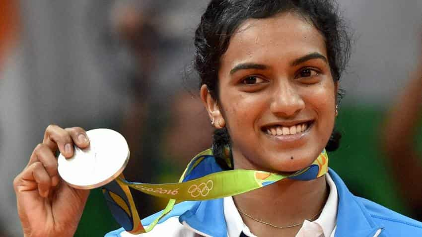 P V Sindhu awarded Rs 1 crore just after winning silver at Olympics