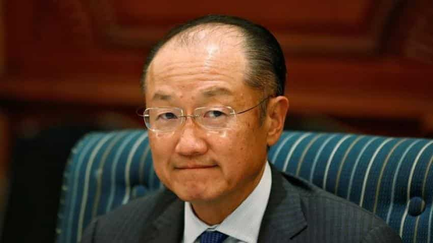World Bank's Jim Yong Kim launches bid for second term as president