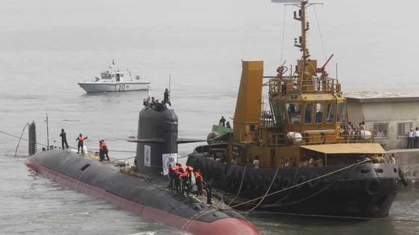 Govt reports Indian Scorpene submarines data leak by overseas source
