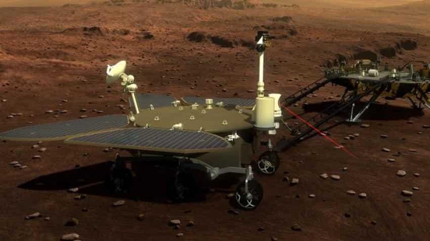 China unveils sneak peek at Mars Mission 2020