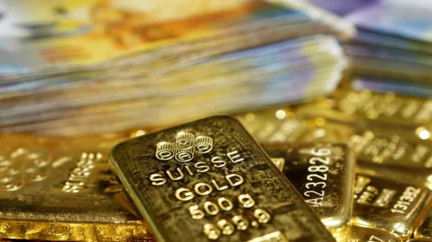 Gold steady as dollar slips ahead of Janet Yellen's speech