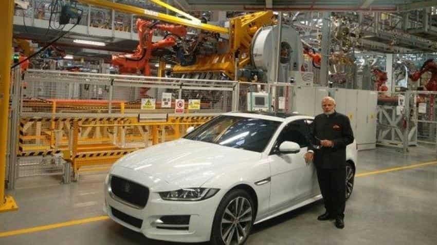 Tata Motors' shares surge over 3% despite 57% drop in Q1 net profit