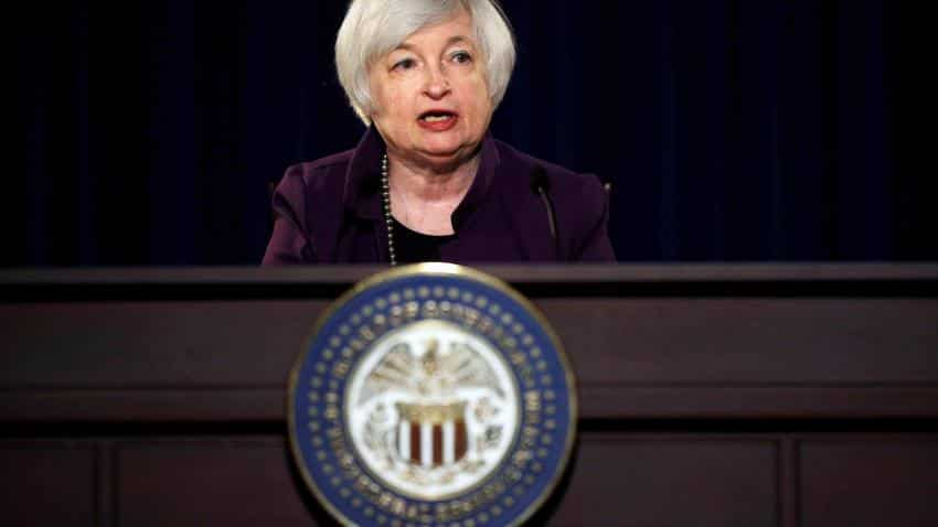 Yellen's case for rate hike boosts dollar, stocks surrender gains