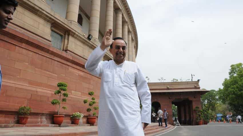 Swamy targets GSTN again, to write to Amit Shah, BJP CMs
