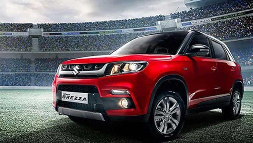 Maruti Suzuki's Brezza pushes UV sales by 89% in August