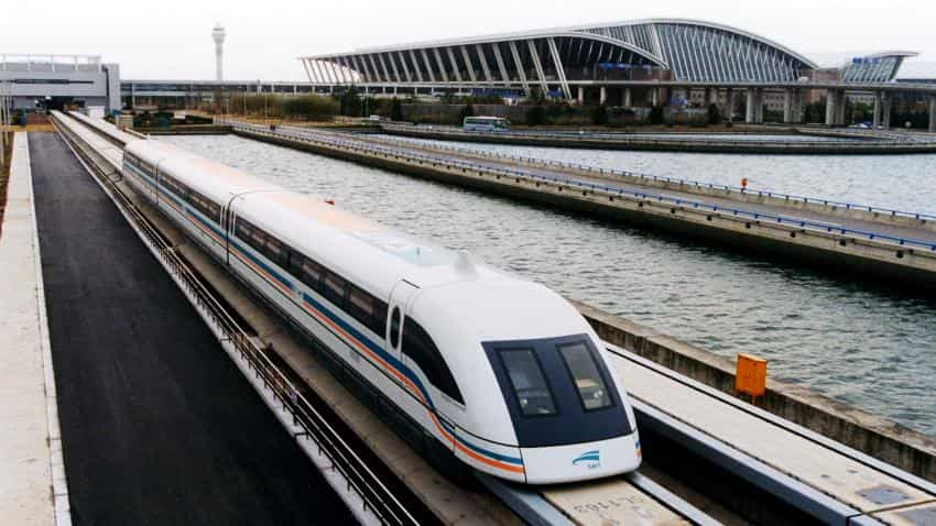 BHEL interested in Ultra High speed MAGLEV trains in India
