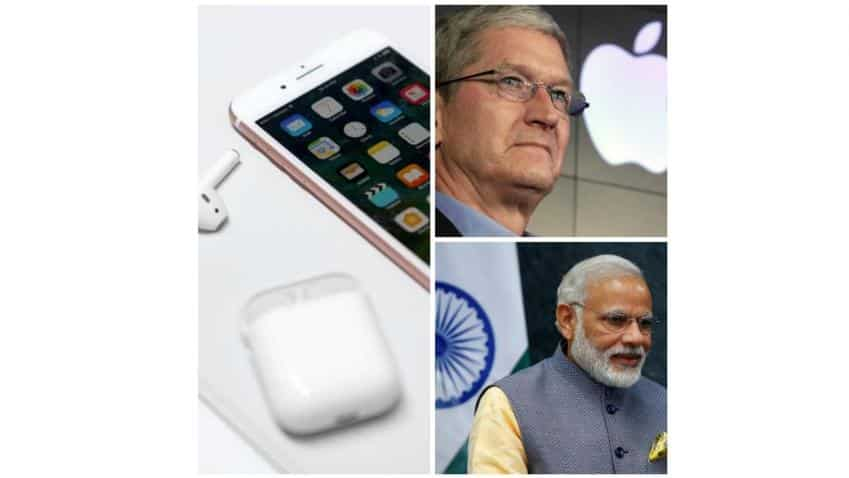 Apple iPhone 7: India cuts waitlist short on Modi's 'Make in India' talks with Cook