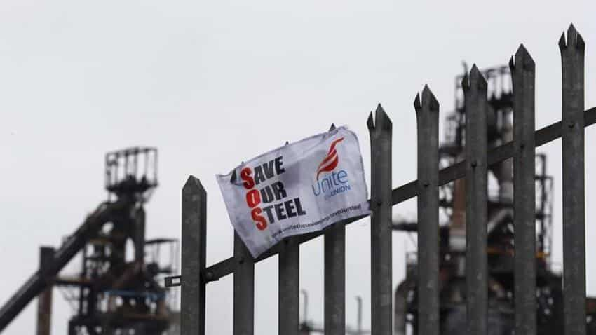 British steel workers face prospect of pension quick fix