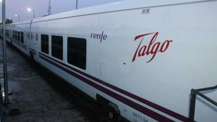 Super-fast Talgo train completes final trail in less than 12 hours