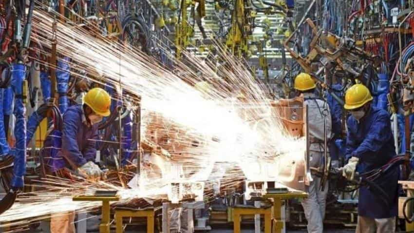 Did factory output slip in July?