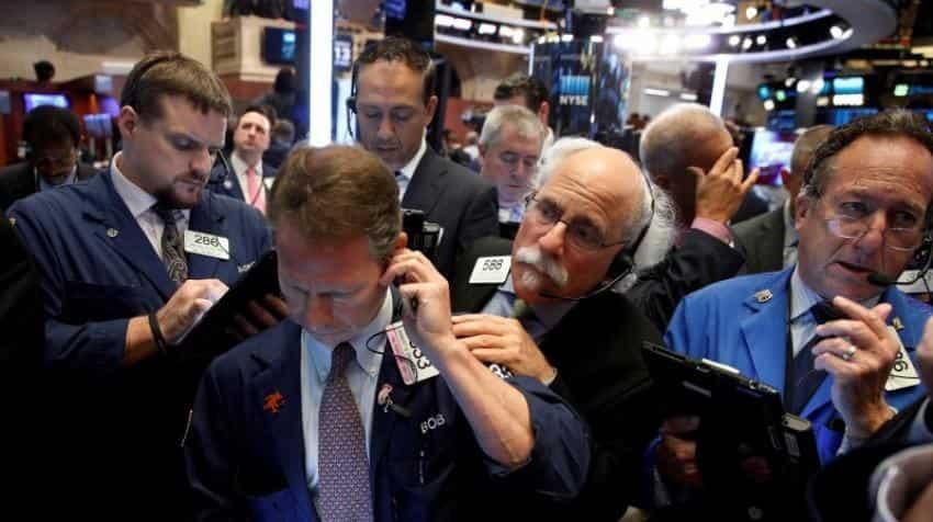 Financials stocks drag on market after Deutsche Bank fine