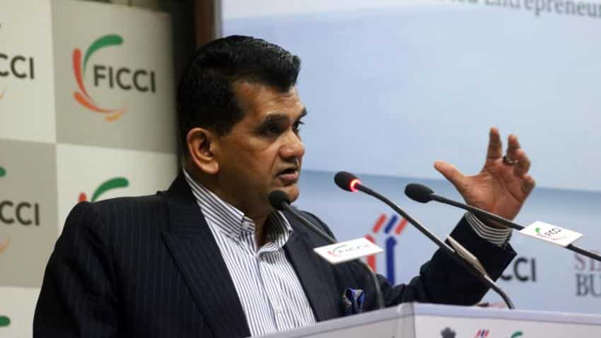 Entrepreneurial spirit needed in society to achieve 9-10% growth: Amitabh Kant