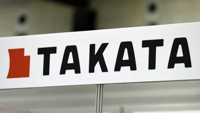 Takata shares dive 15% on bankruptcy buyout report
