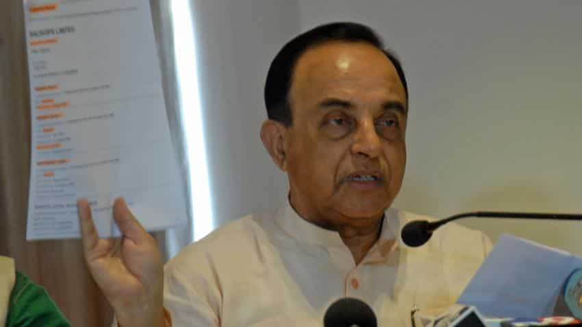 Stay all operations of GSTN, Subramanian Swamy writes to PM Modi