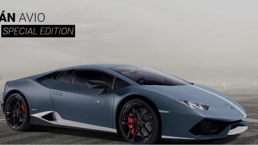 Lamborghini launches special edition Huracan Avio car at Rs 3.71 crore in India