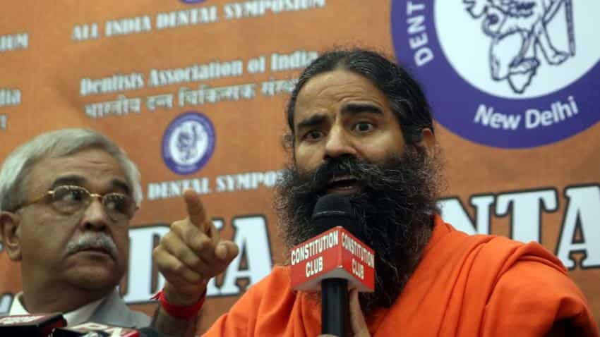 Patanjali to foray into dairy biz; to start milk production in 3 plants in FY17: Ramdev
