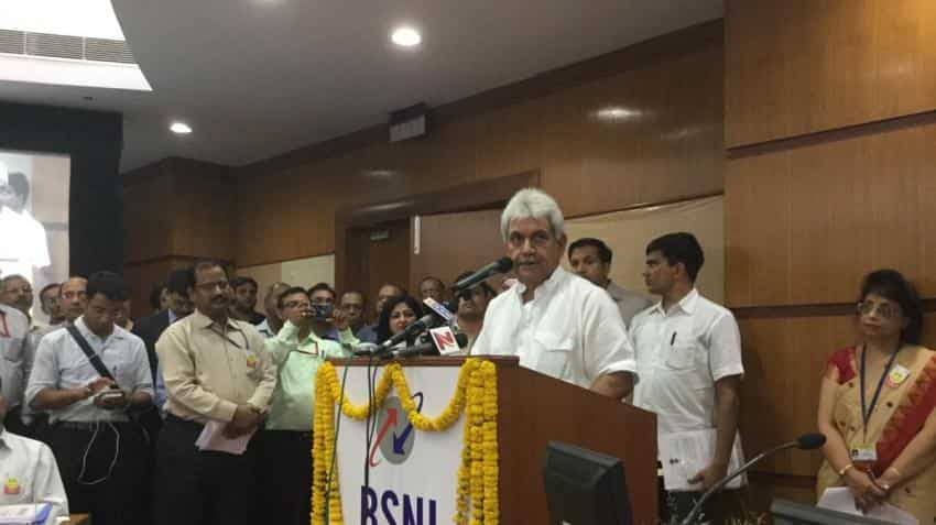 BSNL has to stand firmly & perform in growing competition: Manoj Sinha