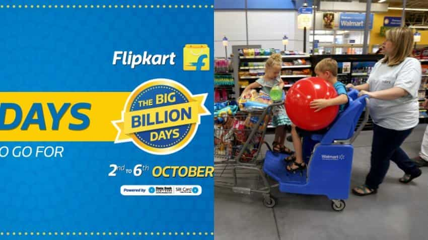 Wal-Mart to buy into Flipkart's 'big billion' sale