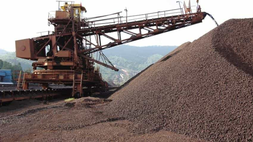 NMDC iron ore sales up nearly 21% in September