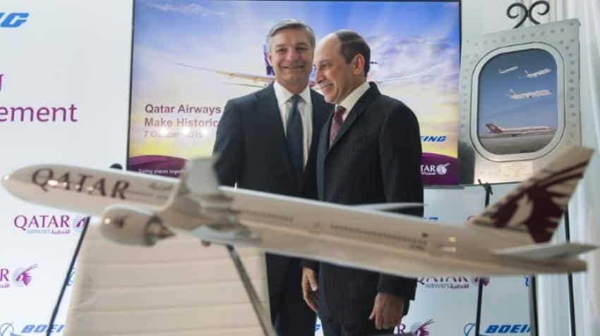 Qatar Airways orders 100 Boeing planes for up to $18.6 billion