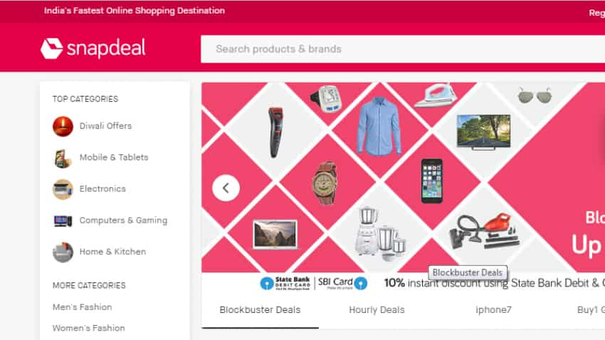 Snapdeal starts 2nd season of 'Unbox Diwali Sale' from Oct 12