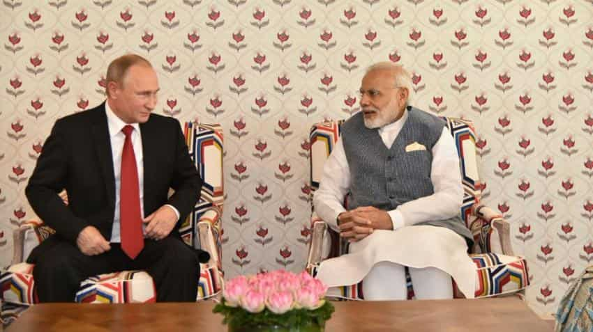 PM Narendra Modi, Vladimir Putin begin bilateral talks