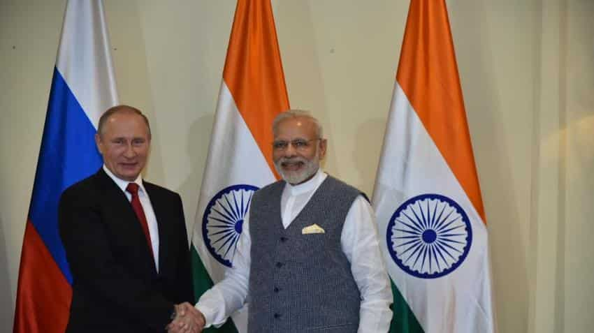 PM Modi, Putin set to sign energy, defence deals