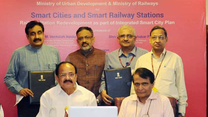 Railway stations, surrounding areas to be redeveloped under Smart City Plan