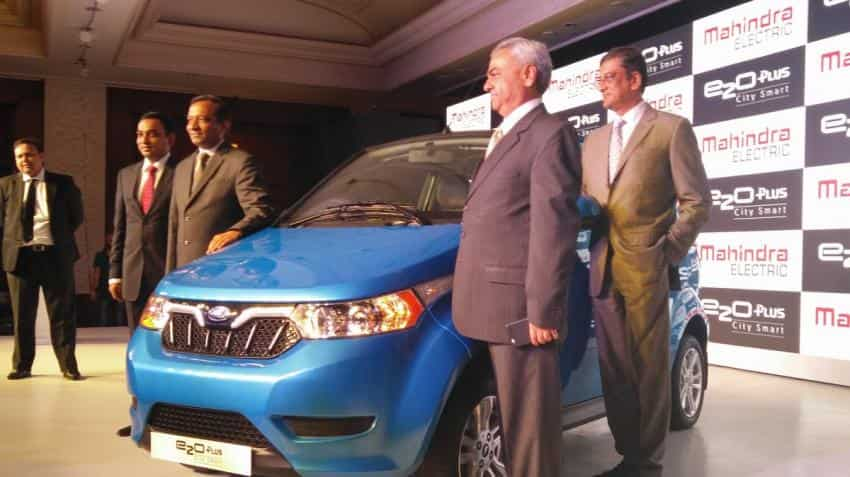 Mahindra launches e20 Plus hatchback priced up to Rs 8.46 lakh
