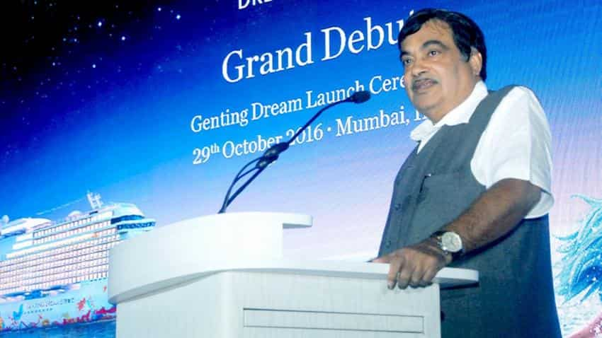 Nitin Gadkari urges private ports to cater to cruise tourism